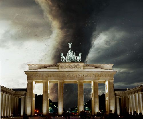 Tornado über der Hauptstadt