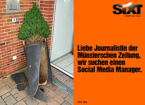 Screenshot: facebook.com/sixt.autovermietung